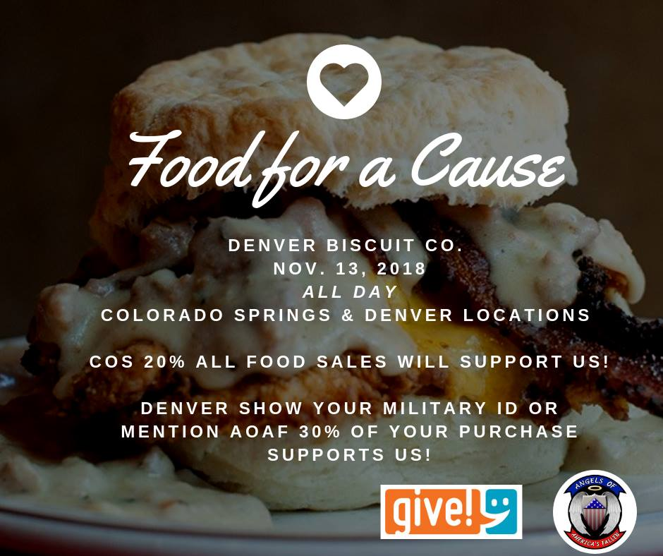 Denver Biscuit Company: Eat At Denver Biscuit Company To Support AOAF